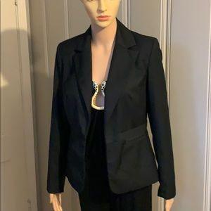 Merona size 4 black blazer